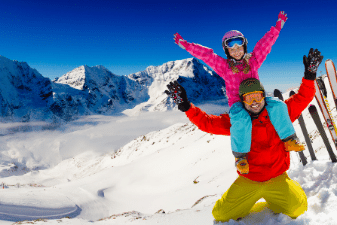 Fun for everyone with a ski holiday from Icon Travel