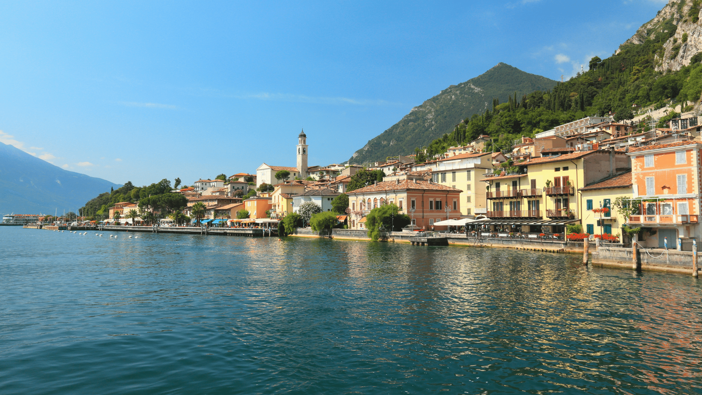 Special offer on a holiday to Limone, Lake Garda, Italy - staying at the Hotel Splendid Palace