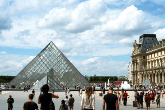Visit the famous Louvre on a citybreak to Paris with Icon Travel