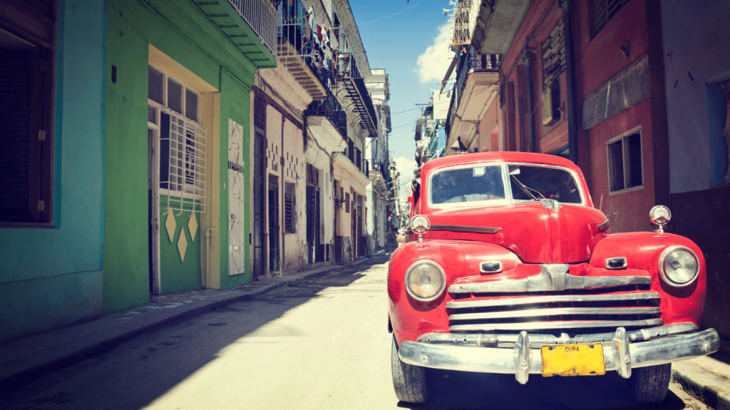 Tour Havana in a classic car