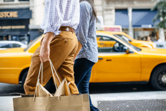 Shopping trips to New York from Ireland