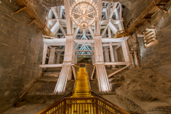 Visit the Wieliczka Salt Mines in Krakow