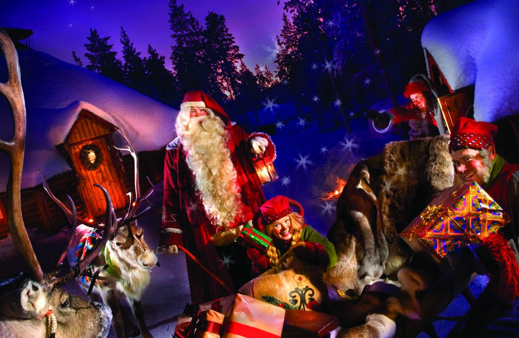 Joulukka Santa and friends
